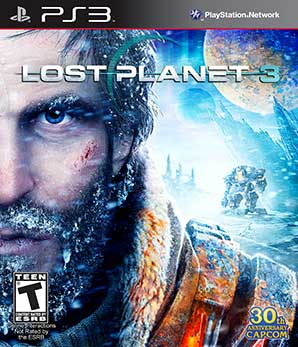 Lost Planet 3 Box Art - PS3